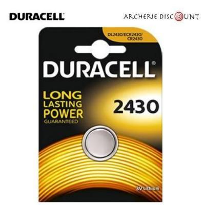 Pile CR 2430 3 volts Duracell