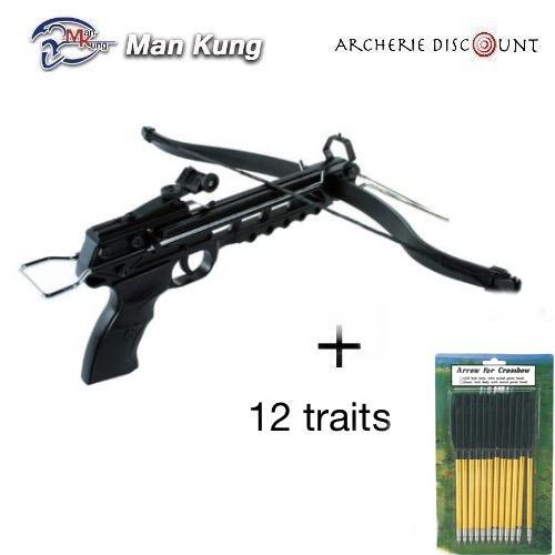 Pistolet 80 lbs 12 traits alu