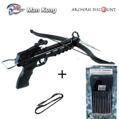 Pistolet 80 lbs corde traits