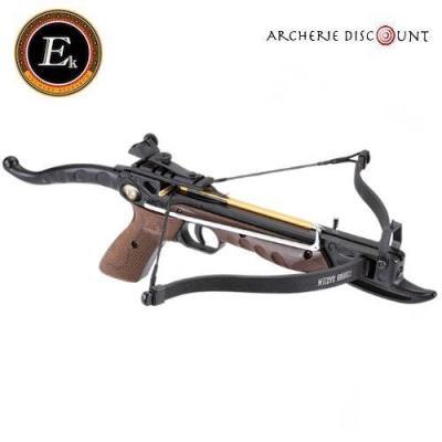 Pistolet arbalète Cobra alu Ek Archery 80 lbs en finition bois