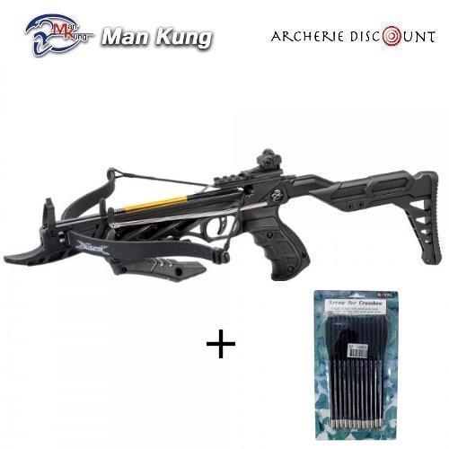 Pistolet arbalete aligator man kung 12 traits