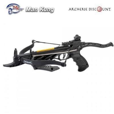 Pistolet arbalète Man kung Alligator couleur noir 80 LBS