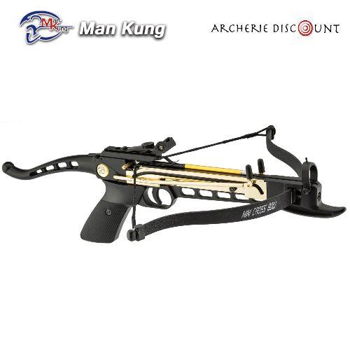 Pistolet arbalette shoot again man kung cf101 80 livres 1