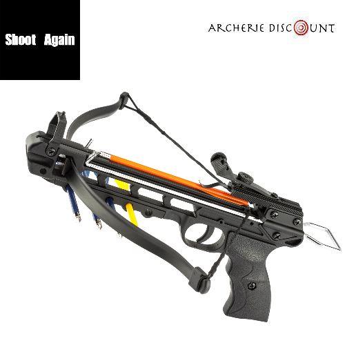 Pistolet arbalette shoot again man kung cf115 50 livres