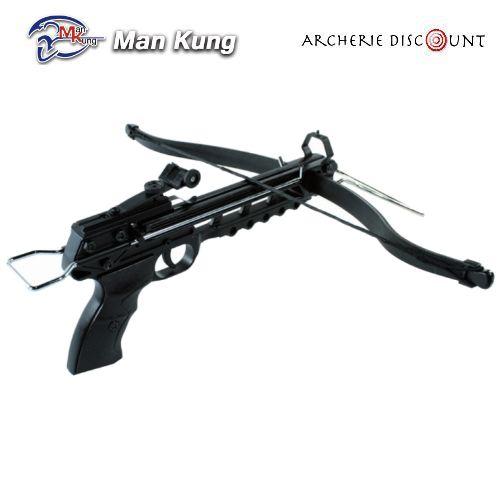 Pistolet arbalette shoot again man kung cf115 80 livres pas cher
