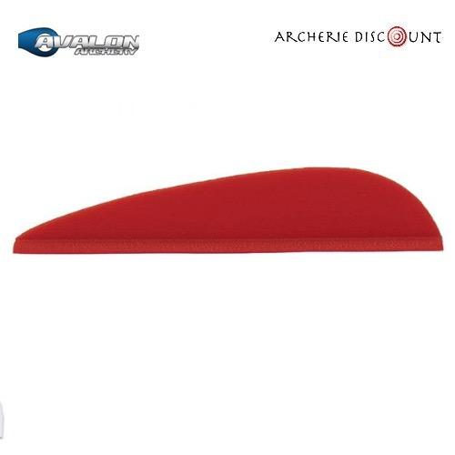 Plumes tyro couleur rouge 2 avalon