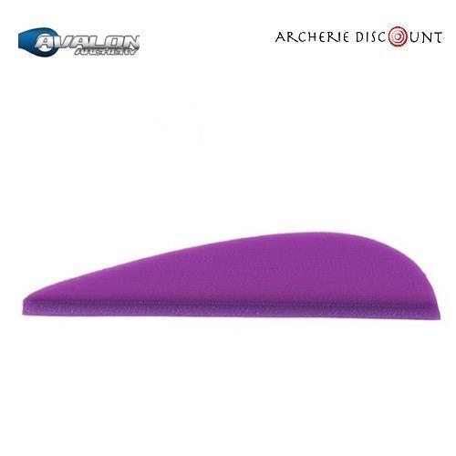 Plumes tyro couleur violet avalon