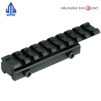 Rail de support de11 mm vers 21 mm