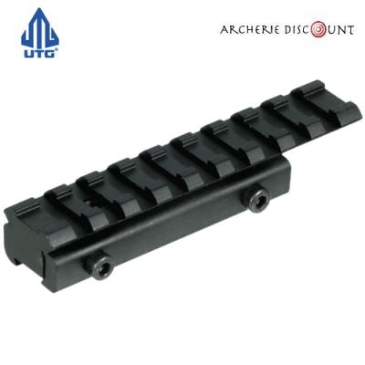 Rail adaptateur UTG 11 mm vers 21 mm