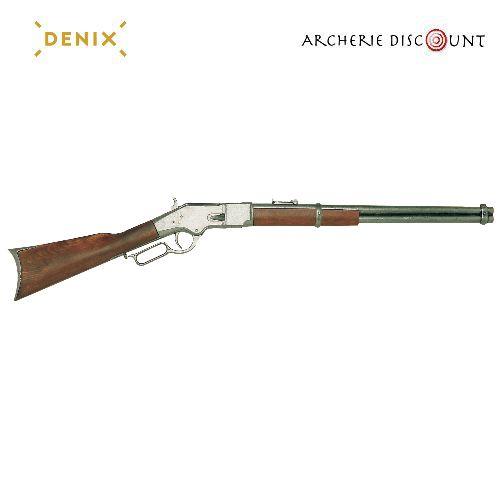 Re plique d arme en me tal carabine a levier winchester 1866