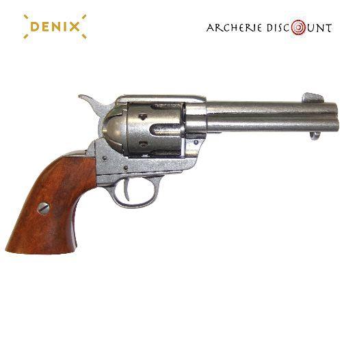 Re plique d arme me tal revolver colt 45 peacemaker western