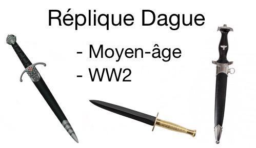 Re plique dague