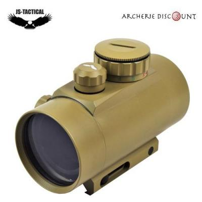 RED DOT TUBE DE 46 MM JS -TACTICAL POINT ROUGE OU VERT