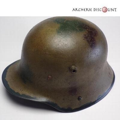Réplique casque Allemand 1916 vieilli