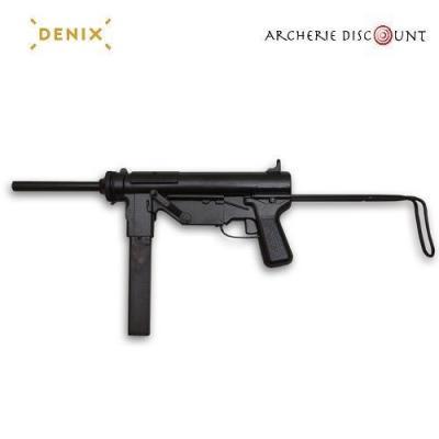 Réplique du pistolet mitrailleur M3 (Grease Gun) DENIX