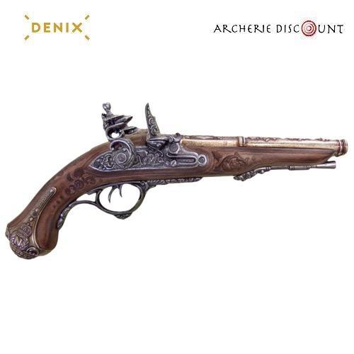 Replique denix du pistolet franc ais a deux canons