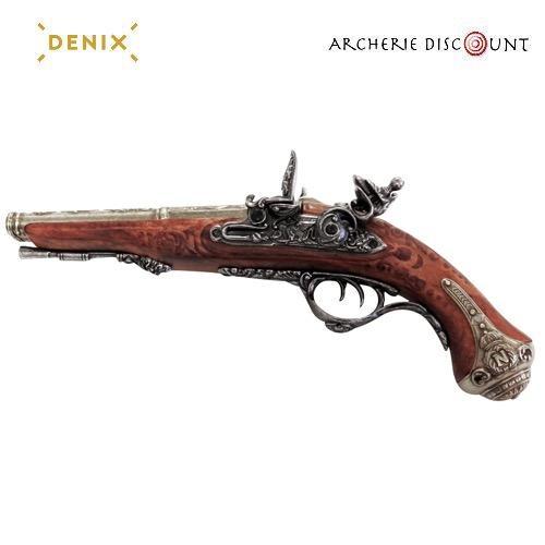 Replique denix du pistolet franc ais a deux canons2