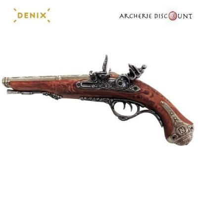 Réplique Denix du pistolet Français à deux canons 1806