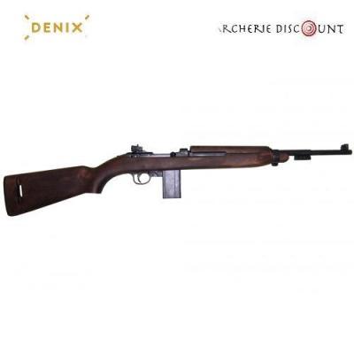 Réplique du fusil USM1 2 avec porte baionnette sans bretelle Denix
