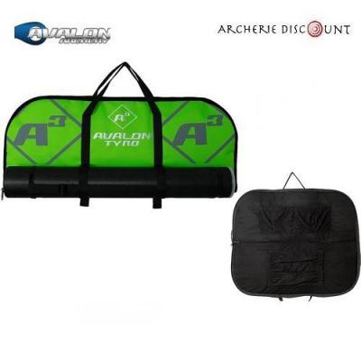 Housse Avalon Tyro  70 cm ave tube de rangement couleur vert