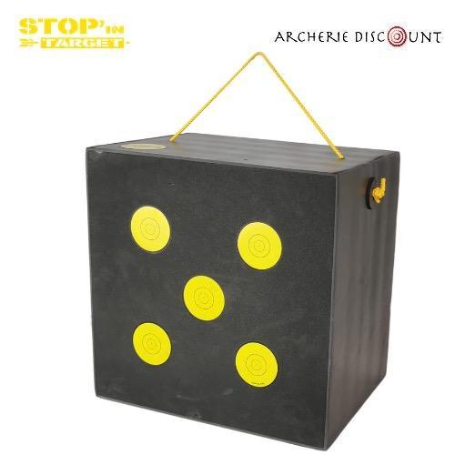 Stop in target cube en mousse ldx 48 x48 x35 cm