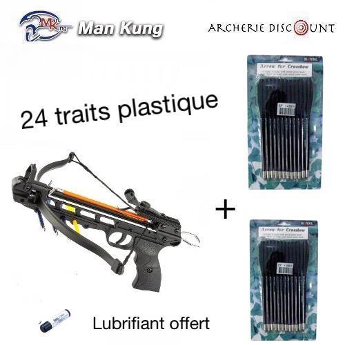 Super pack pistolet 24 traits plastique