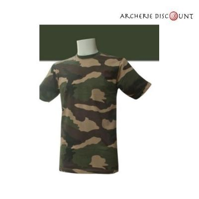 Tee shirt militaire camouflage