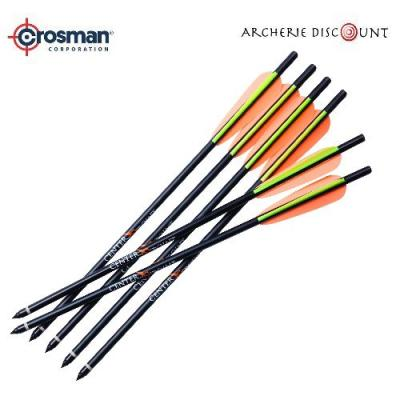 6 X Trait aluminium 40 cm Crosman