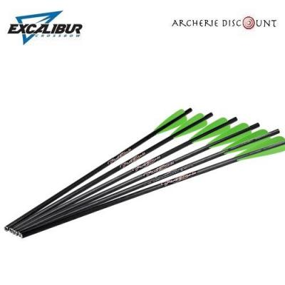 Traits Firebolt carbone par 6 Excalibur 20 pouces