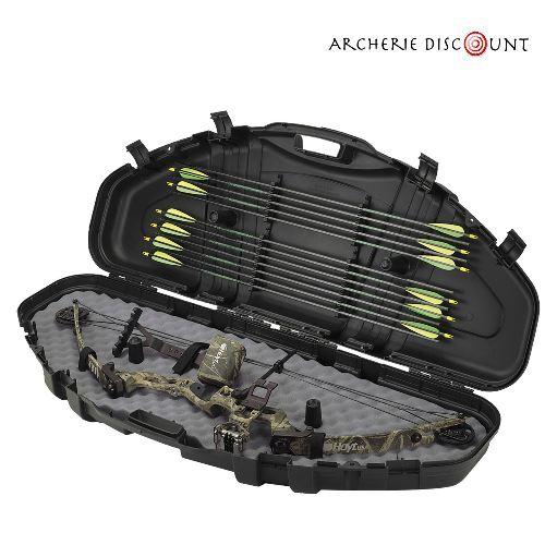 Valise en plastique dur pour arc a poulie avec protection mousse