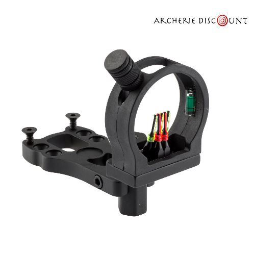 Viseur pour arc avec fibre optique 5 pins pour 5 distances