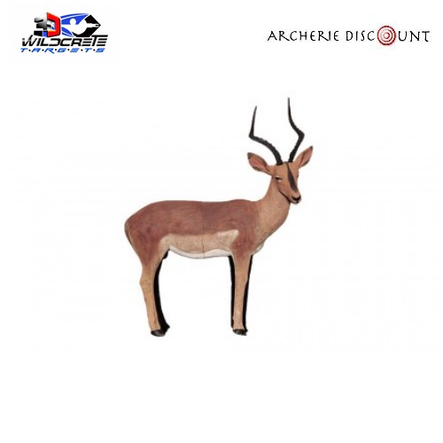Wildcrete cible 3d impala