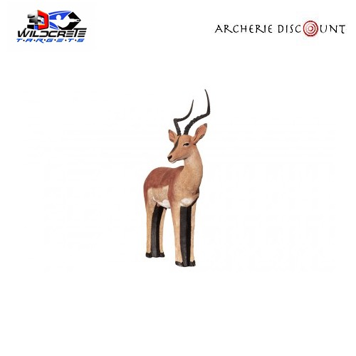 Wildcrete cible 3d impala 1